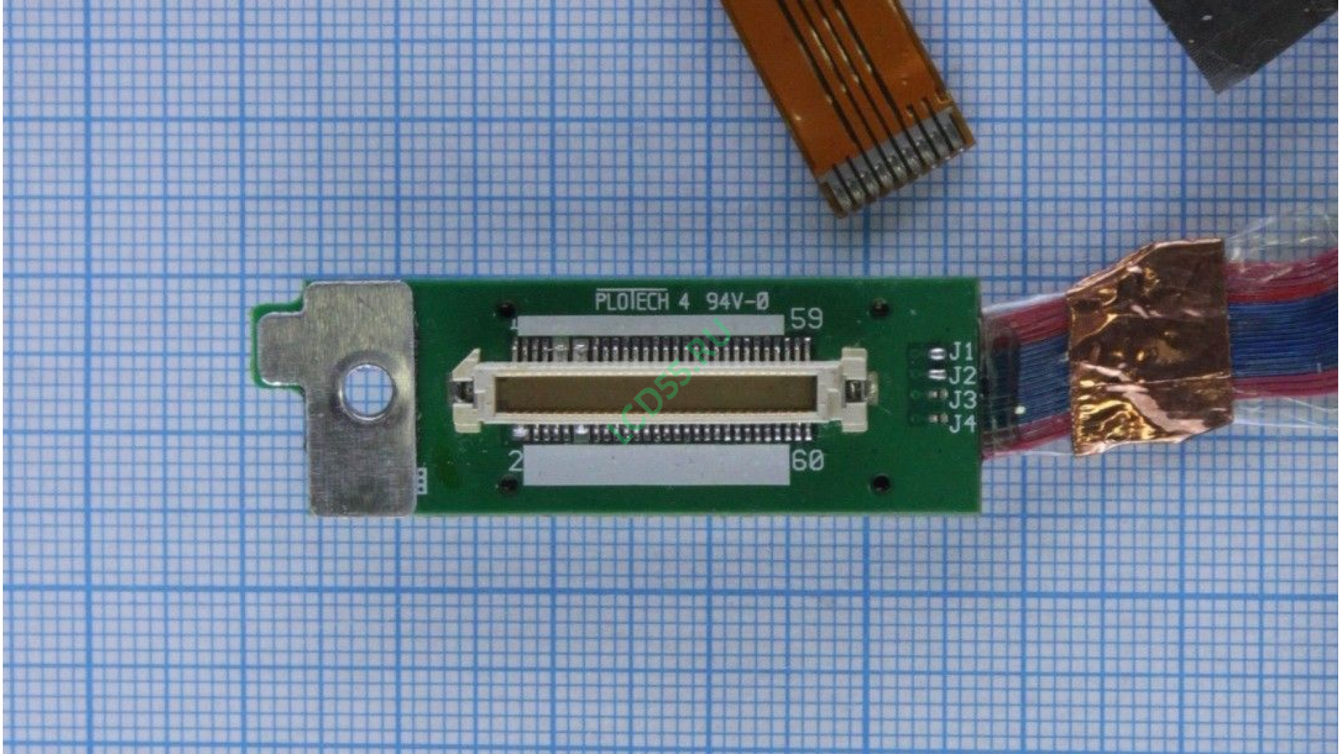 Шлейф матрицы Toshiba Satellite 1000-S157 б/у