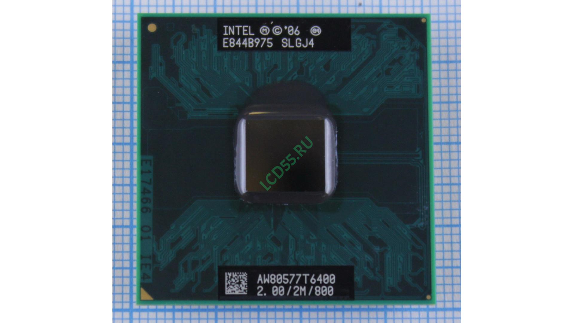 Intel T6400 SLGJ4