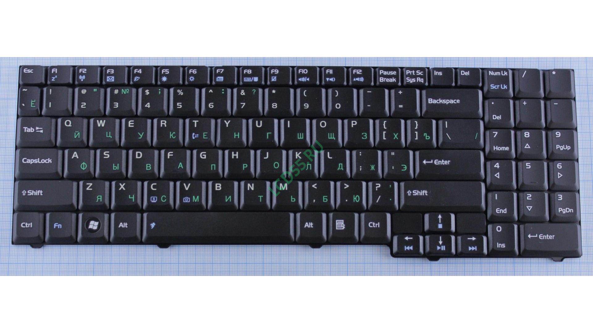Клавиатура Asus M51, M51A, M51Ta, M51Tr, M51Vr, M51S, M51Se, F7, F7Sr, F7Se, F7Kr, F7L, F7Z, X56, Pro57T