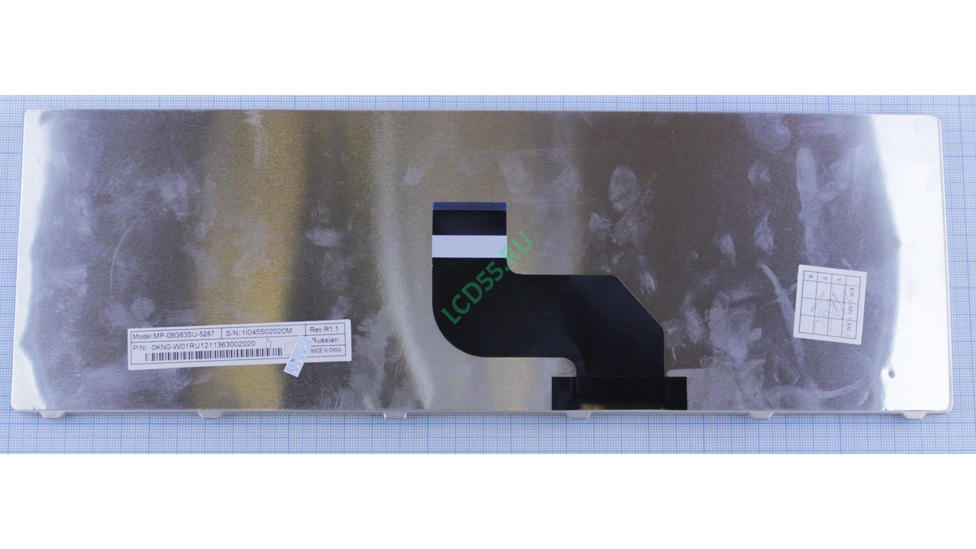 Клавиатура eMachines E630, E430, E525, E527, E625, E627, E628, E630, E725, E727, G430, G525, G625, G627, G630G, G725