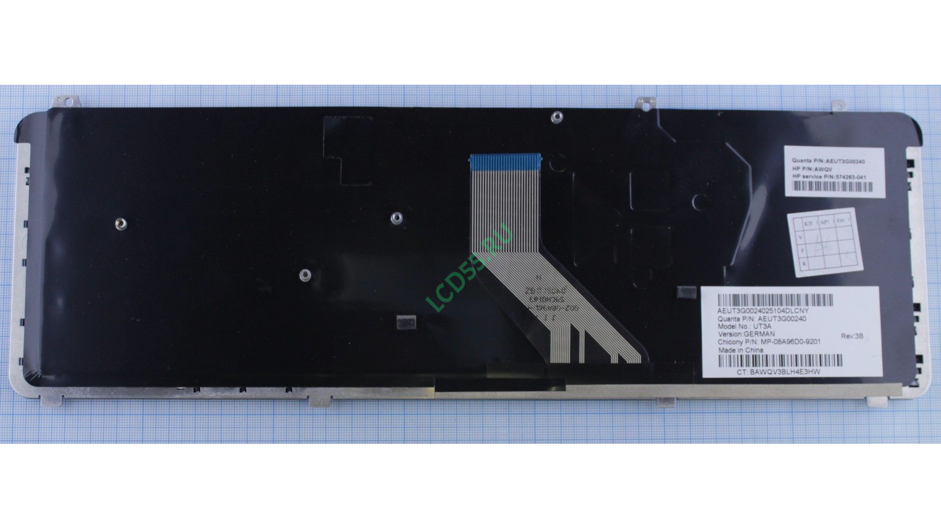 Клавиатура HP Pavilion DV6-1000, DV6-2000