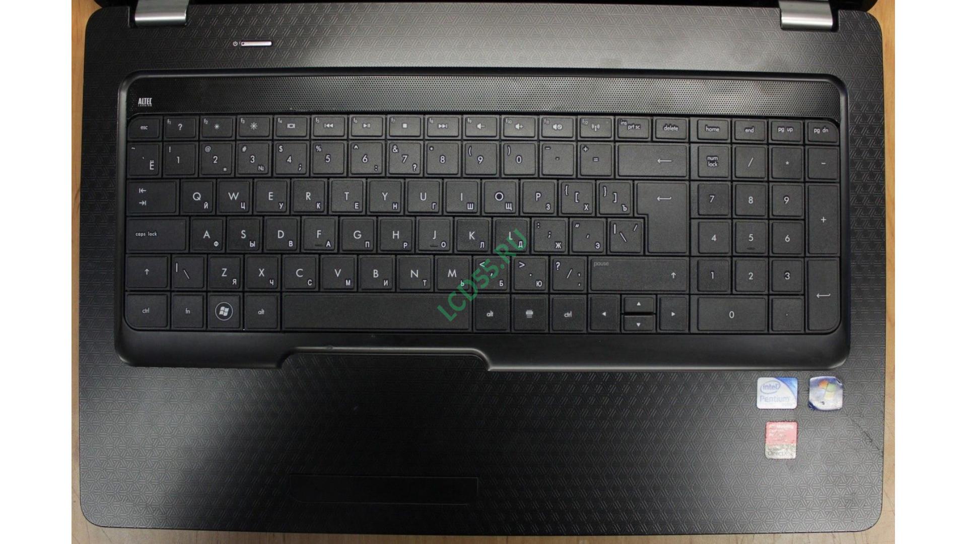 Ноутбук HP Pavilion G72-b01ER б/у