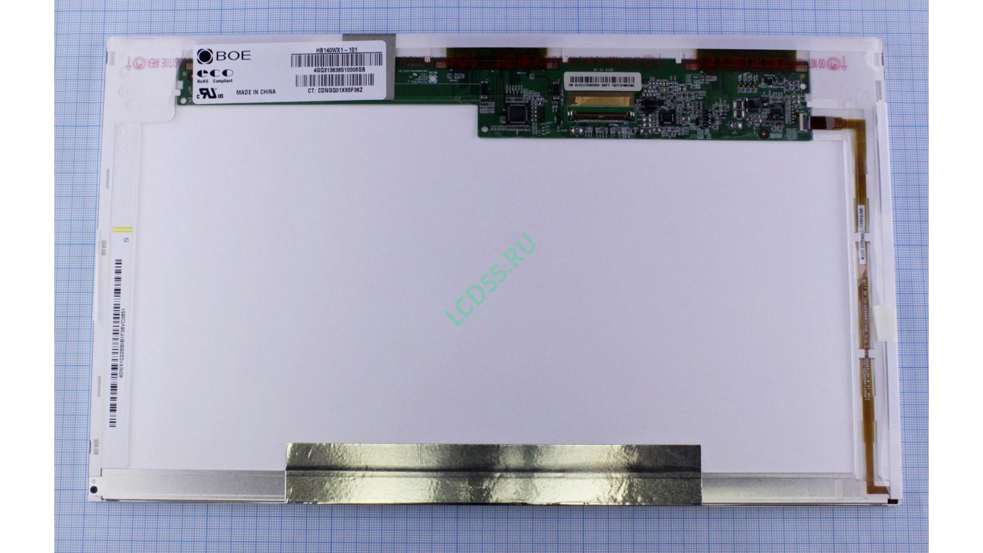 """14.0"""" HB140WX1-101 WXGA HD 1366x768 LED (40 pin left) Glossy"""