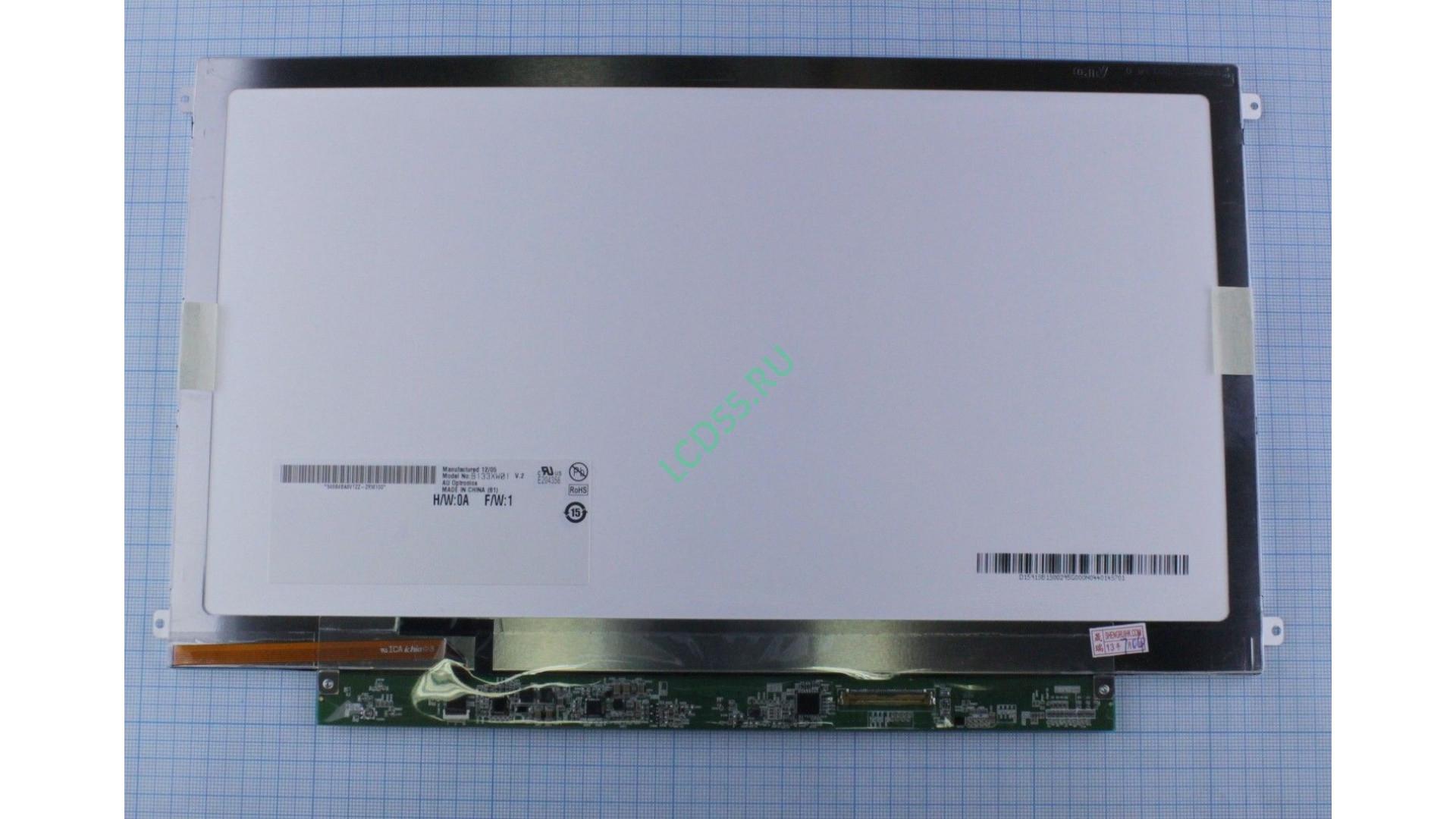 "13.3"" B133XW01 V.2 WXGA HD 1366x768 Slim LED (40 pin rigt) Glossy"