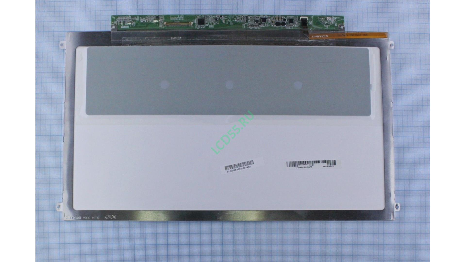 "13.3"" B133XW01 V.0 WXGA HD 1366x768 Slim LED (40 pin rigt) Glossy"