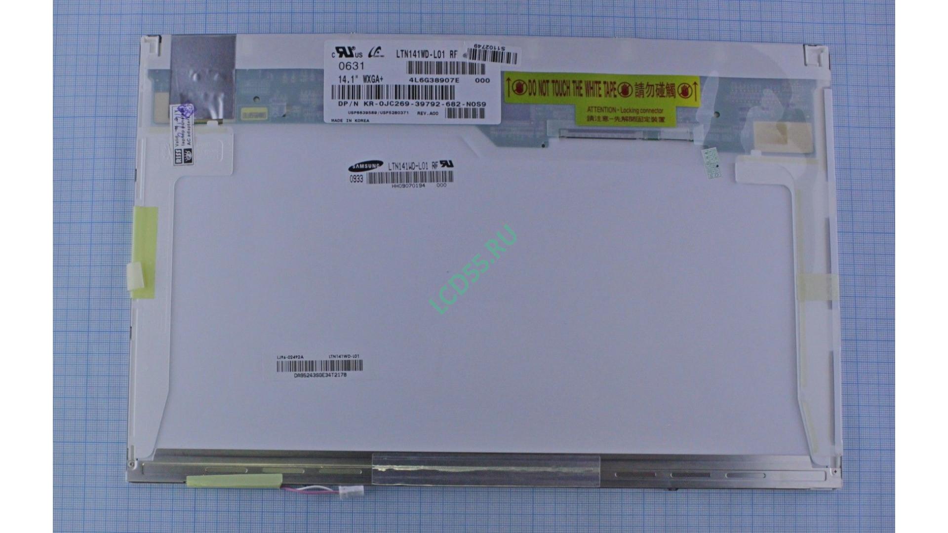 """14,1"""" LTN141WD-L01 WXGA+ 1440x900 1 CCFL 30 pin Matte"""