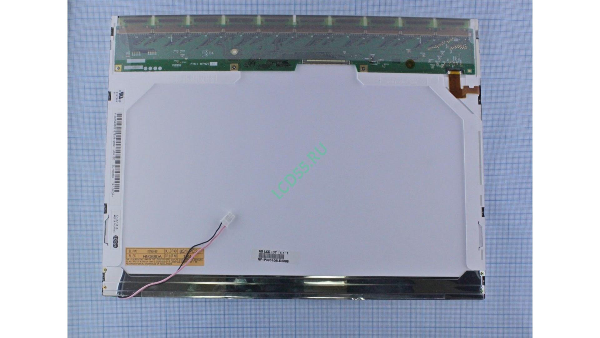 "14,1""  IASX16C  SXGA+ 1400x1050 1 CCFL 30 pin Matte"