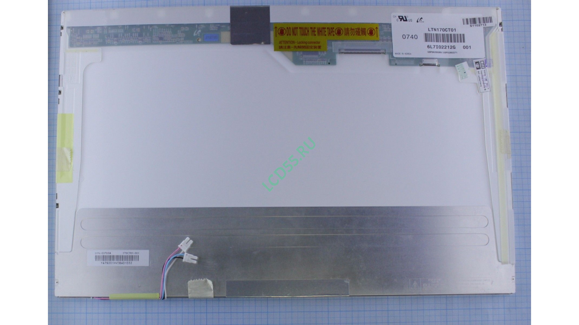 "17.0"" LTN170CT01 WUXGA 1920x1200 30pin 2 CCFL Glossy"