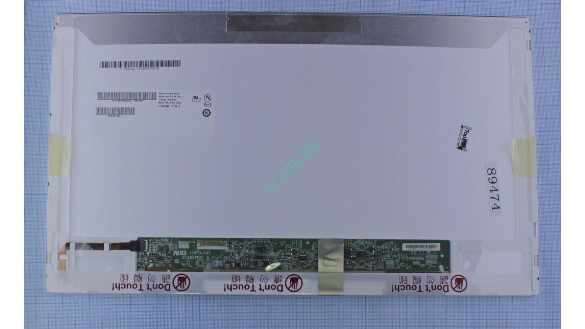 """15.6"""" B156XTN01.1 WXGA 1366x768 LED (30 pin left EDP) Matte"""