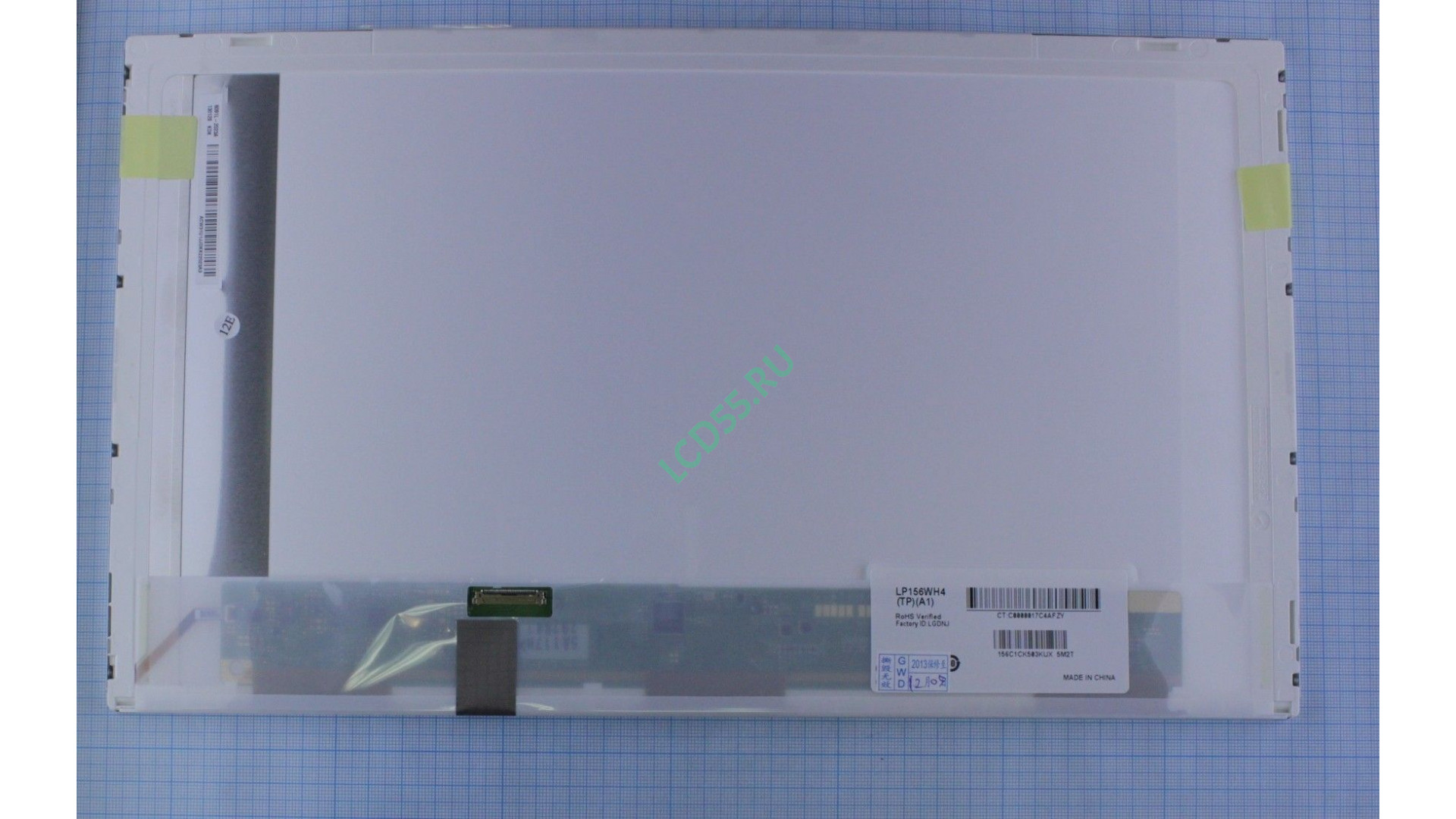 """15.6"""" LP156WH4 (TP) (A1) WXGA 1366x768 LED (30 pin left EDP) Glossy"""