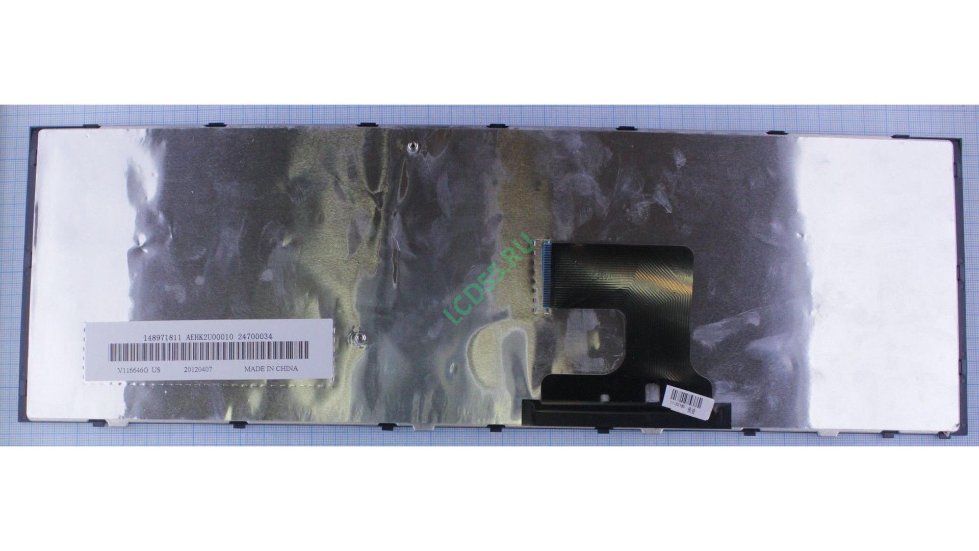 Клавиатура Sony Vaio VPC-EJ series (чёрная)