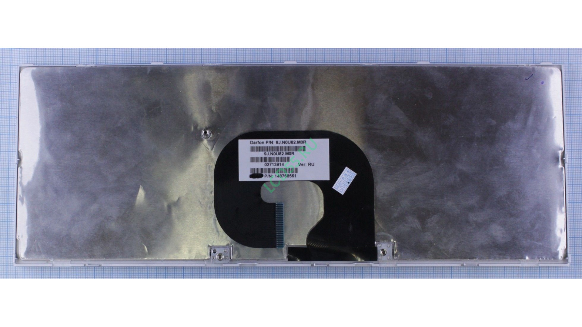 Клавиатура Sony Vaio VPC-Y series (серебристая, белые кнопки)