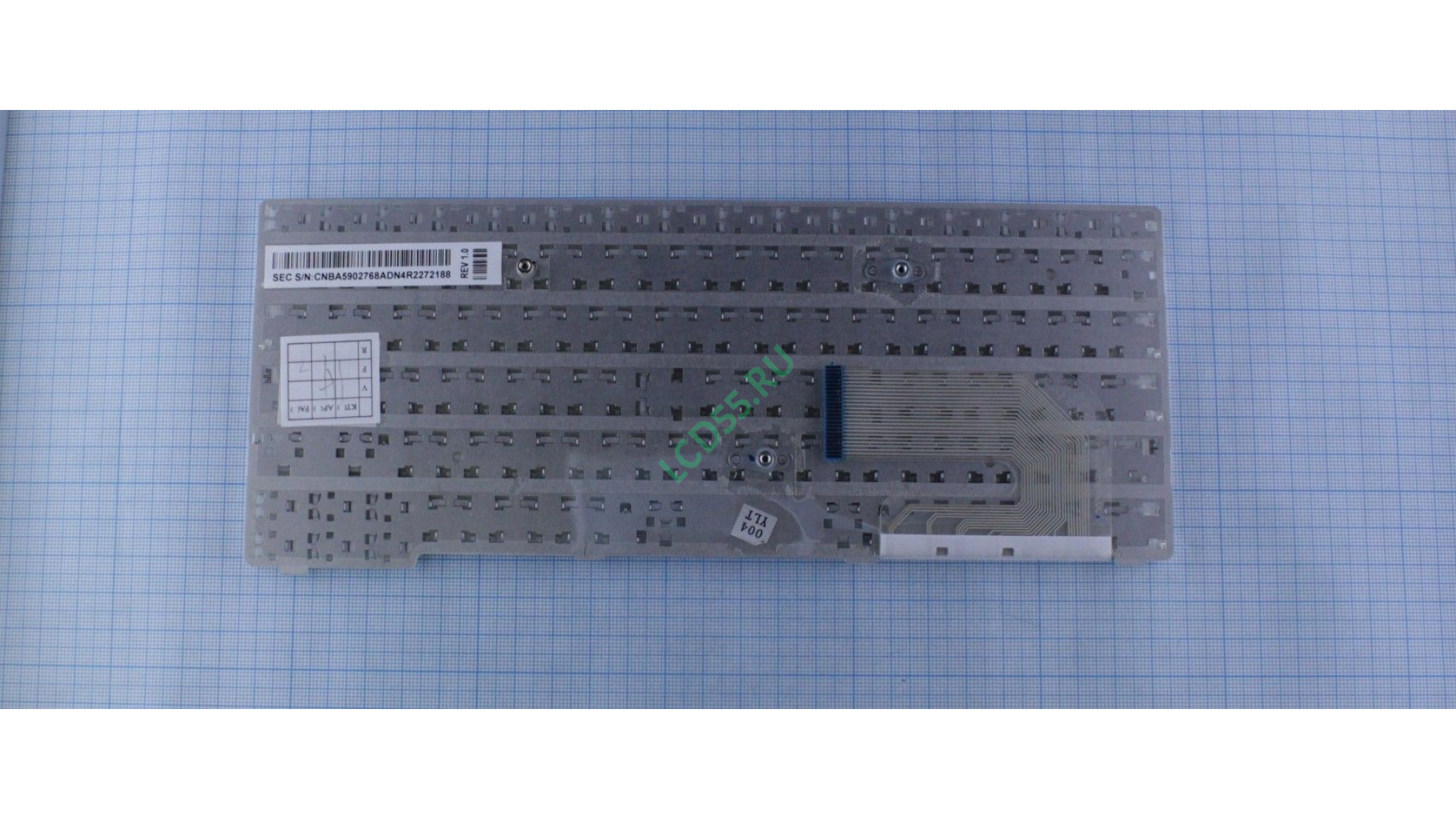 Клавиатура Samsung NP-N150 series (белая)