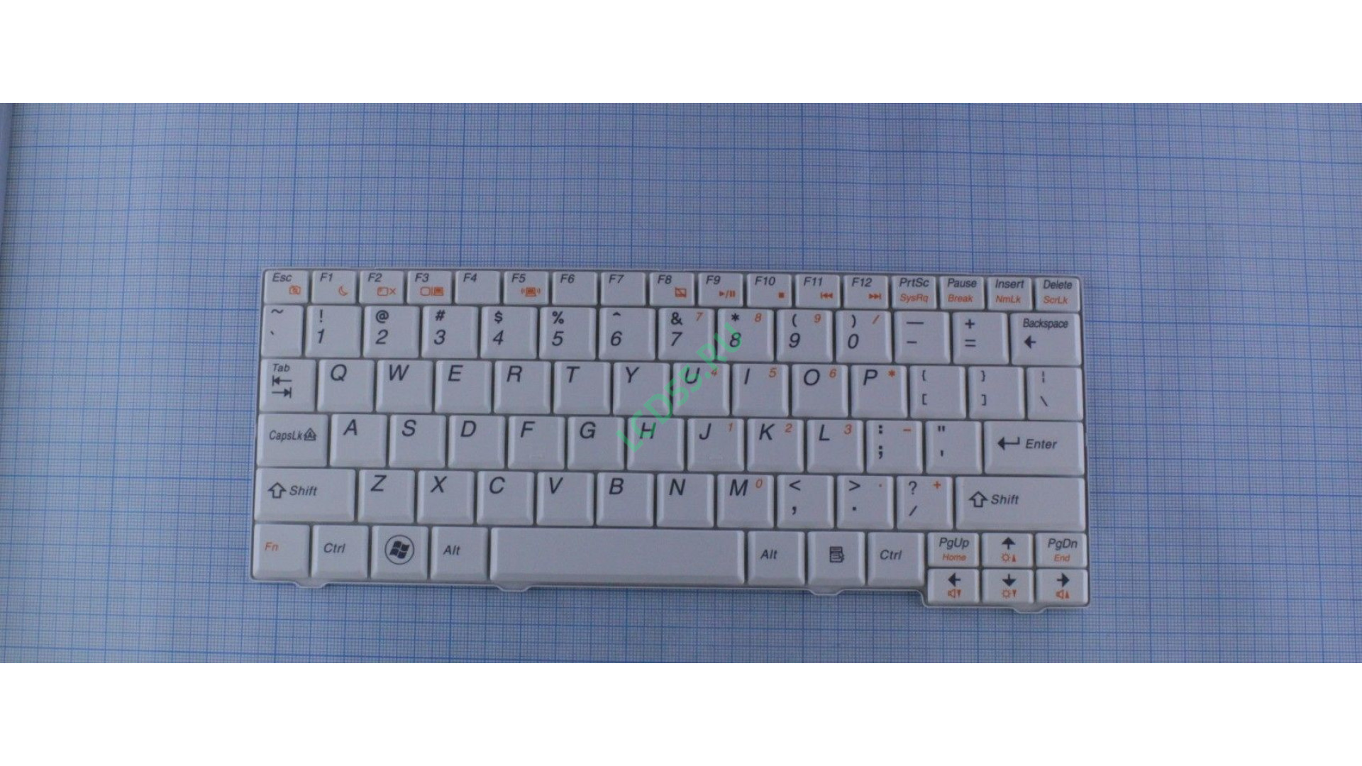 Клавиатура Lenovo S10 (белая)