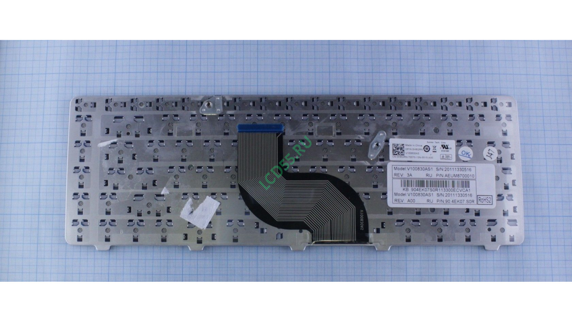 Клавиатура Dell Inspiron 14V, 14R, N4010, N4030, N5030, M5030