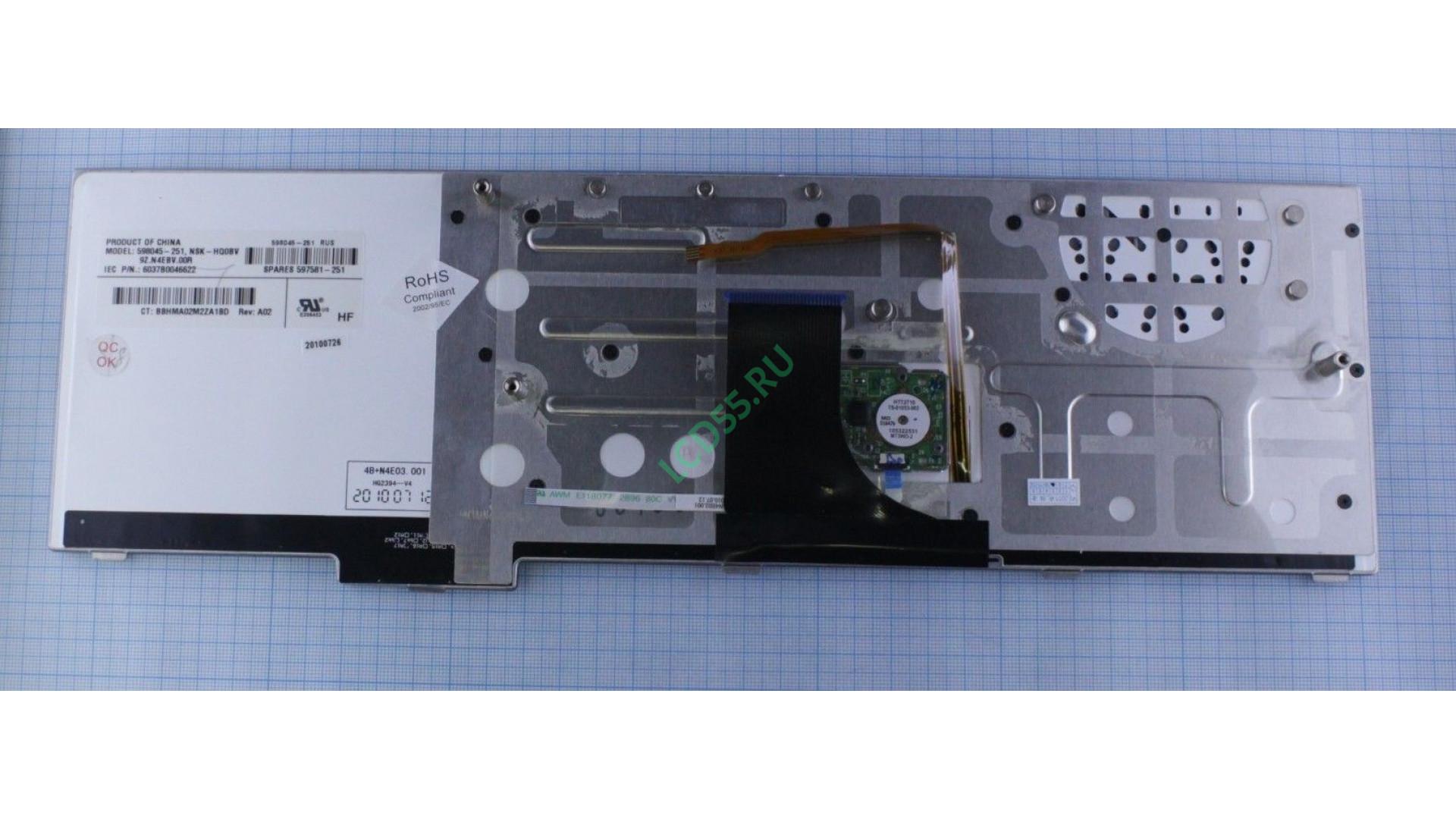 Клавиатура HP EliteBook 8740W
