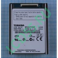 Жесткий диск ZIF IDE 240Gb Toshiba MK2431GAH