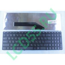 Клавиатура Asus K50, K50C, K51, K60, K61, P50, K70, F52, X5DIJ (черная)