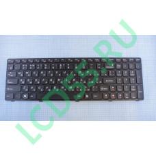 Клавиатура Lenovo B570, V570, Z575, Z570 (25-013347 М-117020FS1-RU, 570-101085) (черная)