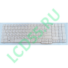 Клавиатура  Acer Aspire 7520, 7720 (MP-07A53SU-698) (белая) б/у