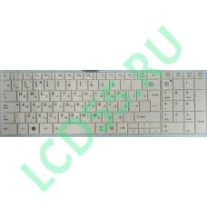 Клавиатура Toshiba Satellite L850, L875 (NSK-TVBSu, 9Z.N7USU.B01) белая