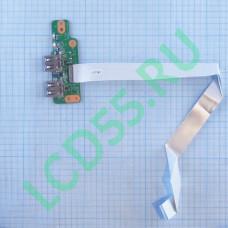 Плата USB HP Pavlilion DV7-4000 series (36LX7UB0000)