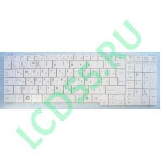 Клавиатура Toshiba Satellite C650, C655, C660, L650, L655, L670, L675, L750, L755 (9Z.N4WGV.101 (белая)