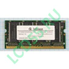 Infineon HYS64D32020GDL-6-C DDR1 SODIMM 256Mb 333MHz <PC-2700>