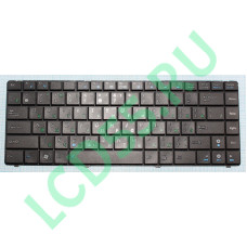 Клавиатура Asus K40, X8, F82, P80, P81 (V090462AS1, 0KN0-CX1US01, 04GNQW1KUS00-1, MP-09H63SU-886) (черная)