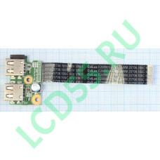 Плата USB Compaq Presario CQ58, HP650, 655 (01016YY00-575-G) б/у