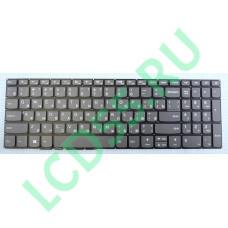 Клавиатура Lenovo 320-15,320-15AST, 320-17IKB, 330E-15, 520-15 (9Z.NDRDSN.10R) серая