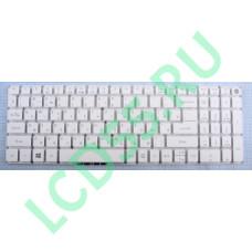 Клавиатура Acer Aspire E5-522, E5-573, V3-574, E5-722, F5-572 (AEZRTG0210, NK.I1517.00K) белая