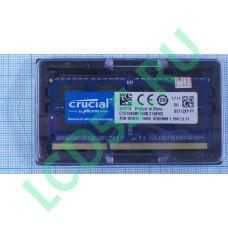 4GB sodimm Crucial CT51264BF160B 1600 MHz PC-12800 PC3L 1.35V