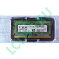 2GB sodimm Crucial [CT25664BF160BJ]  PC12800 DDR3L