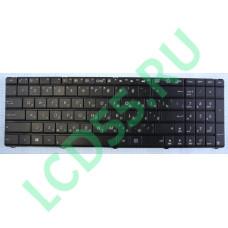Клавиатура Asus A75, K75, X75 черная