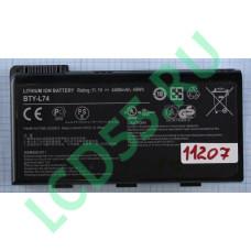 Аккумулятор для MSI CR630 CX500 CX620 CX700 BTY-L74 11.1V 4400mAh Б/у износ 8%