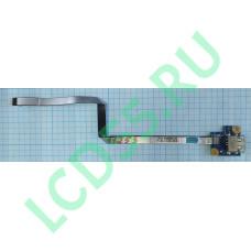 Плата USB Lenovo G770 (LS-7987P, NBX0000UI00) б/у