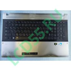 TOP case в сборе с клавиатурой Samsung RV511, RV513, RV515. RV520 (BA75-02862C, BA59-02941C)Б\У