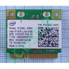 Модуль Wi-Fi Intel 512AGN_HMW A/G/N MiniPCIEx