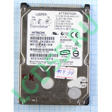 """40 Gb IDE Hitachi DK23EA-40 2.5"""" UDMA100 4200 rpm 2Mb"""
