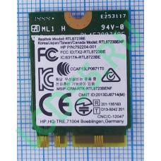 Модуль Wi-Fi Realtek RTL8723BE B/G/N Bluetooth NGFF