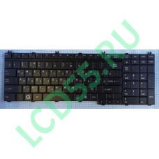 Клавиатура Toshiba Satellite A500, F501, P505, L350, L500, P300, X500, F60, F750 (черная)