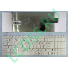 Клавиатура Asus K52, A52, F70, F90, N50, N51, N60, N61, N70, N71, N90 белая