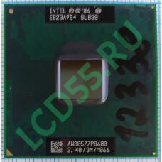 Intel Core 2 Duo P8600 (3M Cache, 2.4 GHz, 1066 MHz FSB) SLB3S