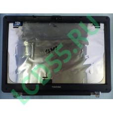 Крышка матрицы с рамкой и петлями Toshiba Satellite X205 б/у