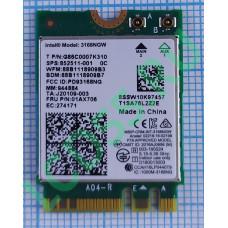 Модуль Wi-Fi Intel 3168NGW 802.11ac Bluetooth NGFF