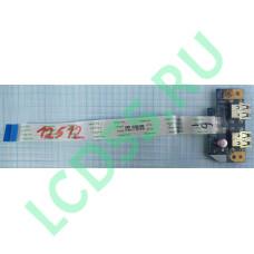 Плата USB Acer Aspire E5-571G, E5-511, E5-521, E5-551, E5-571, V3-572 б/у