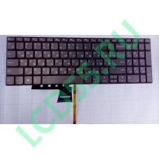 Клавиатура Lenovo 320-15, 320-17IKB, 330E-15, 520-15 серая с подсветкой