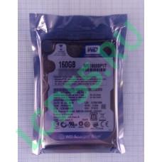 """160 Gb SATA-II 300 Western Digital Blue WD160BPVT 2.5"""" 5400 rpm 8Mb"""