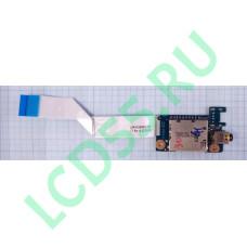 Плата Audio, Card-Reader Lenovo G580, G585 (LS-7986P, NBX00011K00) б/у